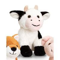 Keel Toys British Wildlife Mini Animals - 12cm Cow