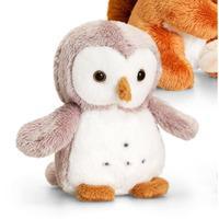 Keel Toys British Wildlife Mini Animals - 12cm Owl