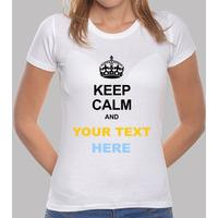 keep calm and ... choose your text!