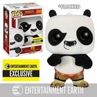 Kung Fu Panda Funko Pop! - Po (Flocked) 250 Collector\'s figure Standard