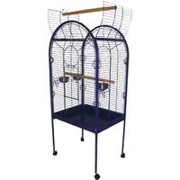 Lazy Bones Open Top Blue Parrot Cage Lazy Bones 3ft x 2ft (0.71m x 0.56m) Open Top Blue Parrot Cage