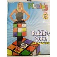 Large Ladies Rubik\'s Cube 3d Costume