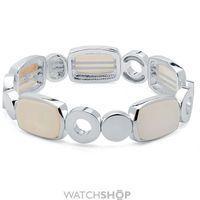 Ladies Nine West Silver Plated Stretch Bracelet 60459716-I15