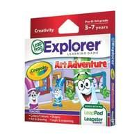 LeapFrog Explorer Crayola Game (for LeapPad and Leapster)