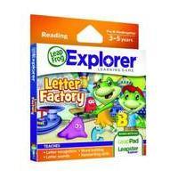 LeapFrog Explorer Letter Factory Game (for LeapPad and Leapster)