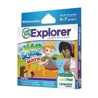 LeapFrog Explorer Learning Game Leapschool Maths (for LeapPad and Leapster)