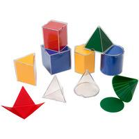 Learning Resources Folding Geometric Shapes Set of 8