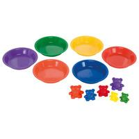 Learning Resources Compare Bears Rainbow Set of 96