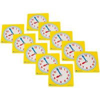 Learning Resources Pupil Clock Dials Set of 10