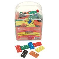 Learning Resources Double Six Dominoes Set of 168