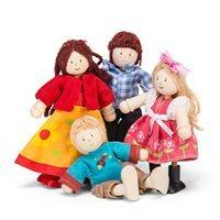 LE TOY VAN DOLL FAMILY Set of 4