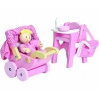 Le Toy Van Rosebud - Nursery Set
