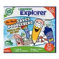 LeapFrog Leapster Explorer - Learning Game Mr. Pencil Saves Doodleburg