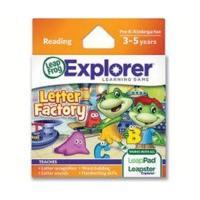LeapFrog Leapster Explorer Letter Factory