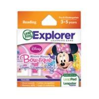 LeapFrog Explorer Minnie Mouse Bow-tique Super Surprise Party