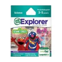 LeapFrog Leapster Explorer Game: Sesame Street