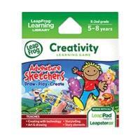 LeapFrog Explorer Creativity Learning Game Adventure Sketchters