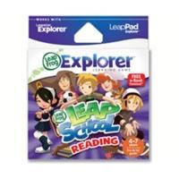 LeapFrog Leapster/LeapPad Explorer Learning Game: Leap School Reading