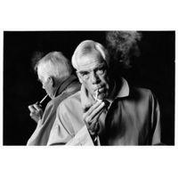 Lee Marvin Smoking by David Steen