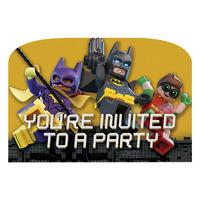 Lego Batman Party Invitations