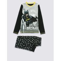 Lego Batman Long Sleeve Pyjamas (4-14 Years)