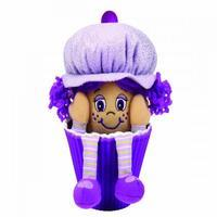 Little Miss Muffin Cup Cake Doll - Purple