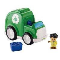 Little People Recycling Truck With Koby Figure - Fisher Price