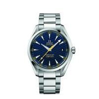 Limited Edition Omega Seamaster Aqua Terra James Bond Spectre automatic men\'s stainless steel bracelet watch
