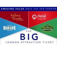 London BIG Ticket - 4 attractions in 1