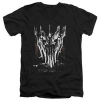 Lord Of The Rings - Big Sauron Head V-Neck