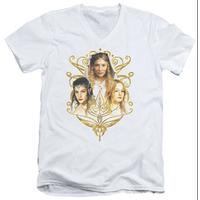 Lord Of The Rings - Women Of Middle Earth V-Neck