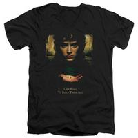 Lord Of The Rings - Frodo One Ring V-Neck