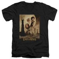 Lord Of The Rings - The Two Towers Poster V-Neck