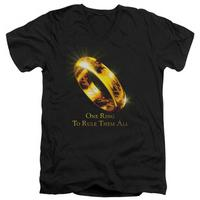 Lord Of The Rings - One Ring V-Neck