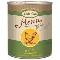 Lukullus Menu Gustico Saver Pack 12 x 800g - Veal with Oats, Pear & Leeks