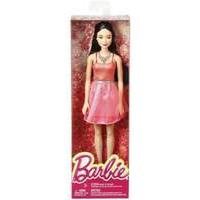Mattel Barbie Doll - Barbie Glitz Outfits - Soft Pink - Black Hair (dgx83)