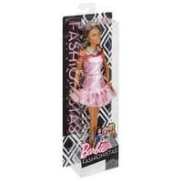 Mattel Barbie Doll - Fashionistas #21- Pink Dress - Dark Skin (fgv00)