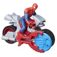 Marvel Spider-Man Blast N\' Go Racers - Spider-Man with Cycle