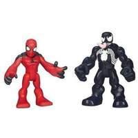 Marvel Super Hero Adventures Playskool Heroes Scarlett Spiderman and Venom