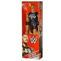 Mattel Wwe Wrestiling Action Figure (30cm) - The Rock â??just Bring Itâ?? (dky22)