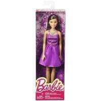 Mattel Barbie Doll - Barbie Glitz Outfits - Purple Dress Brown Hair (dgx81)