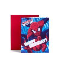Marvel Ultimate Spider-Man Mask Birthday Card