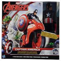 Marvel Avengers Captain America with Defender Cycle