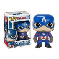 Marvel Captain America Civil War Captain America Pop! Vinyl Figure