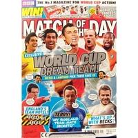 Match Of The Day Magazine #113 - 25th-31st May 2010