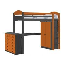 Maximus high sleeper set 2 - Graphite and Orange