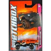 Matchbox Cars - Sahara Survivor Land Rover In Black/Orange by Matchbox