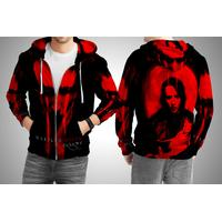 Marilyn Manson (2) All Over Print Zipper Hoodie