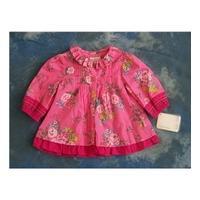 Mamas & Papas 3-6 months pink cotton dress