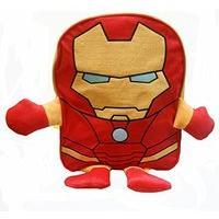 Marvel Iron Man Plush Front Backpack Kids\' Rucksack Children\'s School Bag
